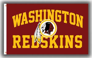 Washington Redskins Football team  Fan Memorable Flag 90x150cm 3x5ft Best banner