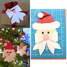 Christmas Cutting Die  Santa Bow Bowknow Metal  Stencils for DIY Scrap