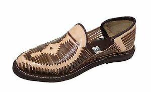 Genuine Leather Sandals Closed Toe Huarache Sandals Style: MEXICAN HUARACHES