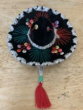 Sombrero Hat For Small Pet Cat Dog Clothes Costume Festive Red And Green