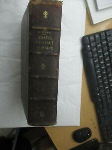 """Testut """"Traité d'Anatomie Humaine"""" T 4 /Octave Doin 1923"""