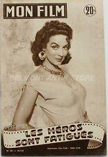 Mon film n°491- 1956 - Maria Felix - Kirk Douglas et Bella Darvi -