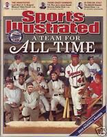 Sports Illustrated 2006 MLB Baseball Team for all Time