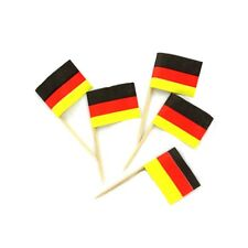 2 Boxes of 144 German Flag Toothpicks (288 total)