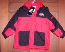 GEORGIA  BULLDOGS UGA 24mo STARTER COAT JACKET NWT