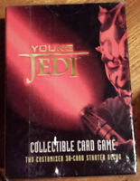 DECIPHER STAR WARS STARTER DECK YOUNG JEDI COUNCIL FACTORY SEALED