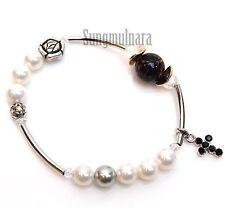 8mm Swarovski Pearl Bracelet Rosary