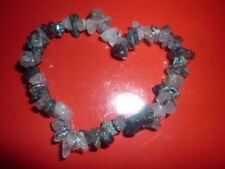 cristalloterapia BRACCIALE braccialetto QUARZO TORMALINATO pietra misticismo