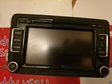 VOLKSWAGEN TOURAN 1T 2009 with code  STEREO HEAD UNIT SCREEN 3C8035195