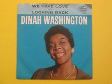 Dinah Washington We Have Love b/w Looking Back Picture Sleeve 71744 45
