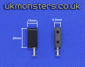 UKMonsters Delrin Servo Mounting Posts x 2