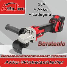 20v Akku Winkelschleifer 125mm 5zoll Trennschleifer Ladegerät und Akku Werkzeuge