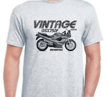 SUZUKI GSX750F 89 inspired vintage motorcycle classic bike shirt tshirt