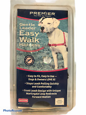 Premier Gentle Leader Easy Walk Medium Black Girth 20-28""