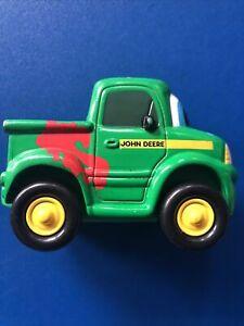 Ertl John Deere Diecast Plastic Toy Vehicle Car Paint Splash Cartoon Face Truck