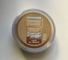 YANKEE CANDLE SCENTERPIECE CAFE AL FRESCO EASY MELT CUP NEW COFFEE SCENT