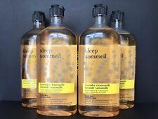Bath and Body Works Sleep Lavender Chamomile Body Wash 10 fl oz Lot of 4