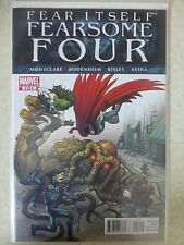 """""""Fear Itself"""" Fearsome Four Issue 2 (Of 4) """"First Print"""" - 2011"""