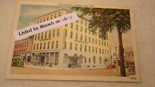 Linen Postcard The Chenango Hotel Norwich New York