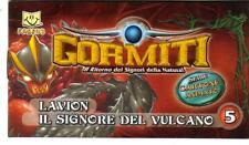 GORMITI  - FANBUK - CARTONE ANIMATO - LAVION-IL SIGNORE DEL VULCANO - POPVULCANO