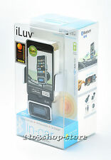 iLuv Bluetooth Car Kit Charger Dock w/FM Transmitter for iPhone 4 4s 30-Pin iPod