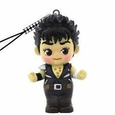 HOKUTO NO KEN SHIRO SURVIVANT FIST NORTH STAR STRAP KEWPIE FIGURE JAPAN ANIME
