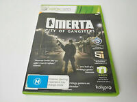 Mint Disc Xbox 360 Omerta - City of Gangsters  Free Postage