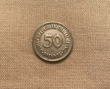 1950 *G* Germany - Federal Republic 50 Pfennig - Ex FINE condition - RARE COIN