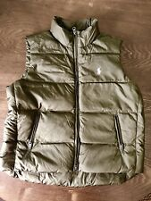 Polo Ralph Lauren Women's Down Puffer Vest Coat Jacket M NEW