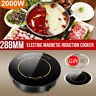 Electric Induction Cooktop Hotplate Kitchen Cooker Portable Waterproof 2200w