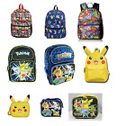 Pikachu Pokemon Backpack or Lunch Box - Your Choice size 16