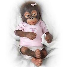 Ashton Drake Little Umi Orangutan Baby Monkey Doll by Wendy Dickison