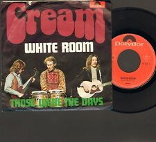 "CREAM White Room SINGLE 7"" Eric Clapton JACK BRUCE Ginger Baker 1969"