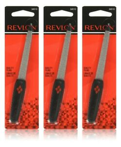 (3 Pack) Revlon Emery Compact Nail File 34510