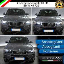 KIT FULL LED BMW X4 F26 ANABBAGLIANTI ABBAGLIANTI LUCI POSIZIONE 6000K NO ERROR