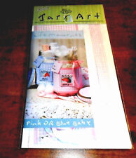 Ball Life Moments Pink or Blue Baby Jar Art