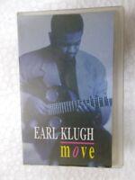EARL KLUGH MOVE RARE orig CASSETTE TAPE INDIA CLAMSHELL 1994