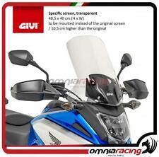 Givi Spezifisches Windschild transparente 485 x 40 cm für Honda NC750X 16> 17