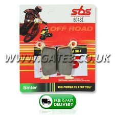 Yamaha YZ400F YZF400 1999 SBS 604SI Sintered Competition Rear Brake Pads