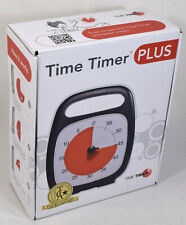 Time Timer Plus Elapsed Time Left Management Visual Reference Clock, Mint in Box