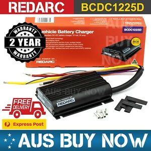 FAST EXPRESS REDARC 25A 12V DC Dual Battery Vehicle Charger BCDC1225D Charging
