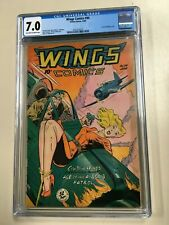 Wings Comics #94 1948 CGC 7.0 Classic Bondage GGA Off-White to White Pages