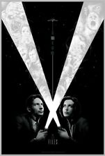 THE X-FILES Matt Ryan Tobin Glow In The Dark  Print Poster RARE Limited to 150