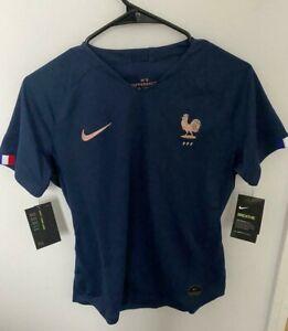 NIKE Women Soccer Jersey France 2019 Size M