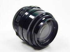 Portrait Black 85mm f/2 lens JUPITER-9 Zenit M42  s/n 7102848. Glossy paint rare