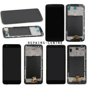 For LG Stylo 5 /4/ 3 Plus LS777 LCD Screen Display Touch Replacement Black+Frame