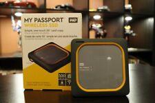 Western Digital My Passport Wireless 500GB SSD External Hard...