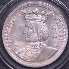1893 World's Columbian Exposition, Isabella Quarter Rare Key Date Quarter