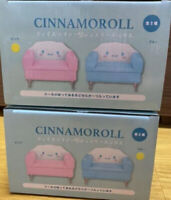 Sanrio Cinnamoroll Face Sofa Jewelry Box Pink & Blue Set Prize 15cm