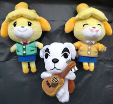 Set of 3 2020 Animal Crossing  Leaf Bunnie/Lilian Plush Toy new